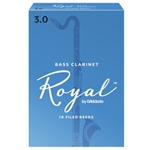 Rico Royal Bass Clar Box Reeds - 10 Pack