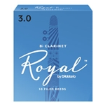 Rico Royal Clarinet Reeds - Box10