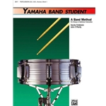 Yamaha Band Student Percussion SD, BD Book 1