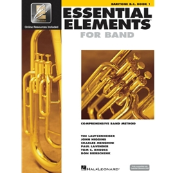 Essential Elements for Band Baritone BC Book 1
