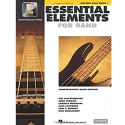 Essential Elements for Band Electric Bass Book 1