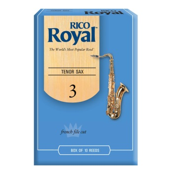 Rico Royal Tenor Sax Reeds - Box