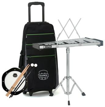 Mapex Bell Kit w/Rolling Cart