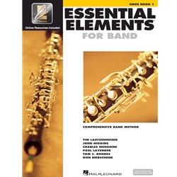 Essential Elements for Band Oboe Book 1